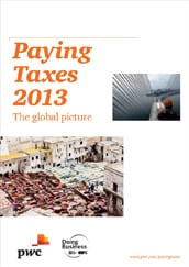 Paying Taxes 2013 - The global picture
