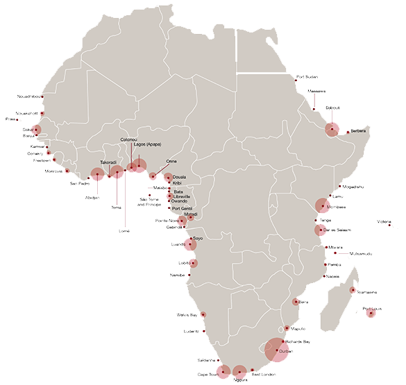 African ports