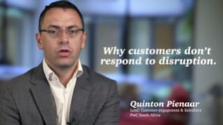 Why customers don't respond to disruption.
